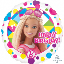 Barbie 'Happy Birthday!' Foil Helium Balloon